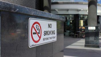 weniger Rauchen